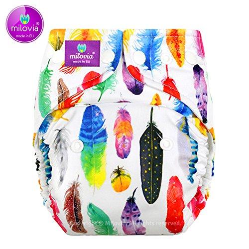 Milovia Coolmax Pocketwindel One Size - Gorgeous Feathers