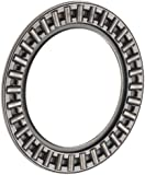 INA AXK3047 Thrust Needle Bearing, Axial Cage and Roller, Steel Cage, Open End, Metric, 30mm ID, 47mm OD, 2mm Width, 7500rpm Maximum Rotational Speed, 15700lbf Static Load Capacity, 3650lbf Dynamic Load Capacity