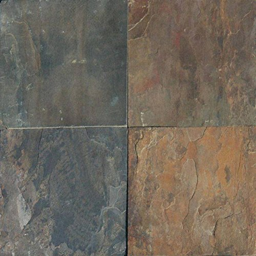 MSI Stone SRUSGLD1616G-C Rustic Gold Tile with Gauged Finish, 16'' x 16'', Brown by MSI Stone (Image #2)