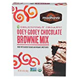 Madhava Honey Organic Ooey - Gooey Chocolate Brownie Mix with Ancient Grains - Case of 6-17.5 oz.