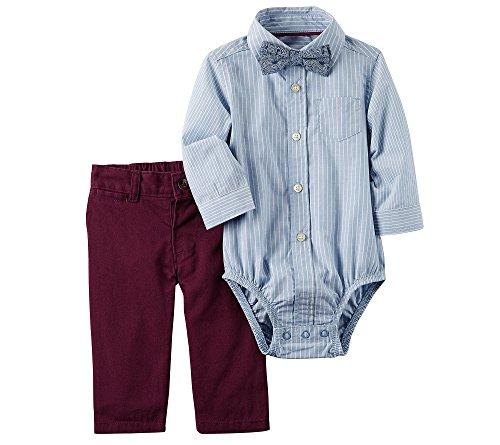 Baby Boy Dress Up Clothes (Carter's Baby Boys' 3 Piece Striped Dress Me Up Set 24 Months)