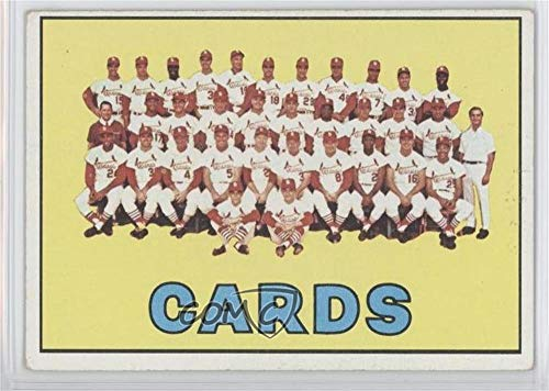 St. Louis Cardinals Team (Baseball Card) 1967 Topps - [Base] #173 ()