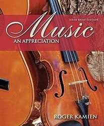 Music: An Appreciation, 6th Brief Edition