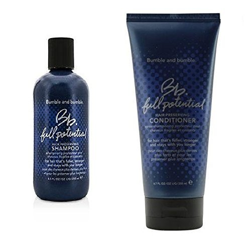 - Bumble and Bumble Full potential Hair Preserving Shampoo & Conditioner 8.5 oz