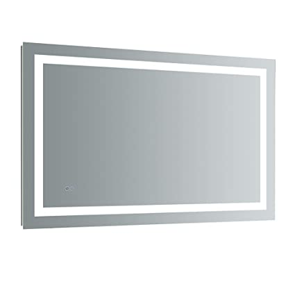 Amazon Com Fresca Santo 48 Wide X 30 Tall Bathroom Mirror W Led