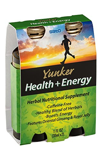 Yunker Health Energy Herbal Supplement, 2 Fluid Ounce For Sale
