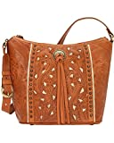 American West Women's Hill Country Tote Bag Tan One Size