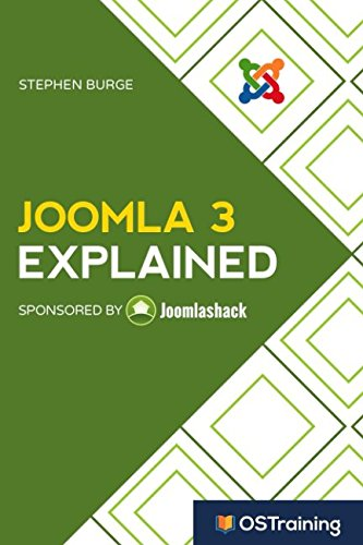 Book cover from Joomla 3 Explained: Your Step-by-Step Guide to Joomla 3 by Stephen Burge