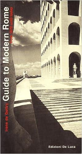 Book Guida di Roma moderna. Ediz. inglese