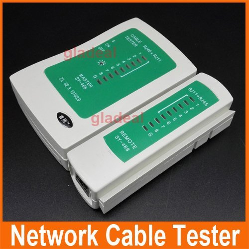 Generic Original New RJ45 /RJ11 Network Lan Cable Tester Wire Line Test Net Work Tool