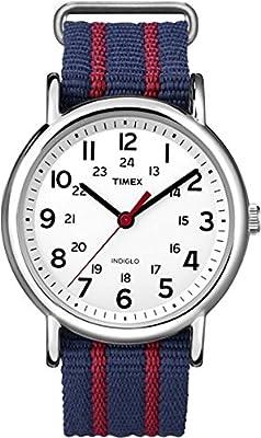 Timex Men's T2N747KW Weekender Slip Through Strap Watch