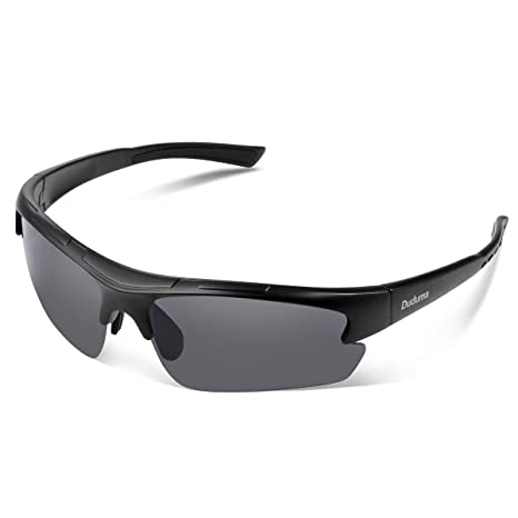 ed1083482e1 Amazon.com  Duduma Polarized Designer Fashion Sports Sunglasses for  Baseball Cycling Fishing Golf Tr62 Superlight Frame  Sports   Outdoors