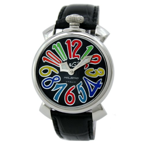 GAGA MILANO 5020.2b MANUALE 40MM ガガミラノ 腕時計 レザーベルト【並行輸入品】  B006KC8WWU