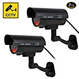 Best Dummy Camera With Flashing - Dummy Camera, Fake Simulated Security Cameras Built in Review