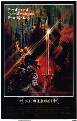 Excalibur 11x17 Movie Poster
