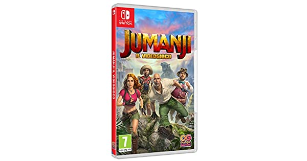 Jumanji: Il Videogioco - Nintendo Switch [Importación italiana ...