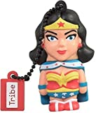 Tribe DC Comics Warner Bros. Pendrive Figure 16 GB Funny USB Flash Drive 2.0, Keyholder Key Ring, Wonder Woman (FD031503)