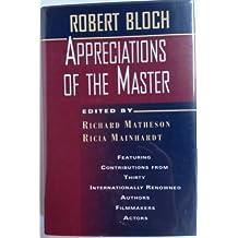 Appreciation Of The Master
