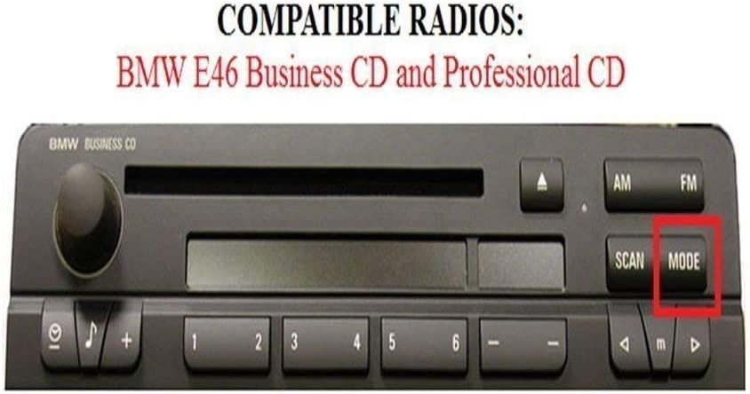 unidad principal Pioneer Reproduce Usb//Aux Ipod Iphone Android BMW 3 serie E46 reproductor de CD