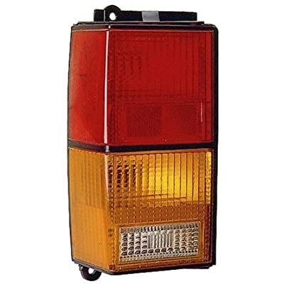 Depo 333-1903L-US Jeep Cherokee Driver Side Replacement Taillight Unit without Bulb: Automotive