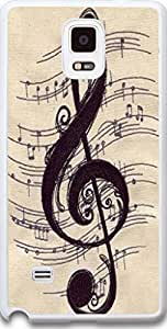 Galaxy Note 4 Case Dseason, Samsung Galaxy Note 4 Case Fashion Printing Series,High Quality Personalized Protector Quotes Note the melody