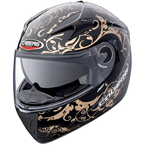 Caberg V2RR Adulto Moto Completo Touring Casco para Moto Negro Bronce