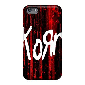 Anti-Scratch Hard Phone Cover For Apple Iphone 6s Plus With Customized Realistic Korn Image Casesbest88