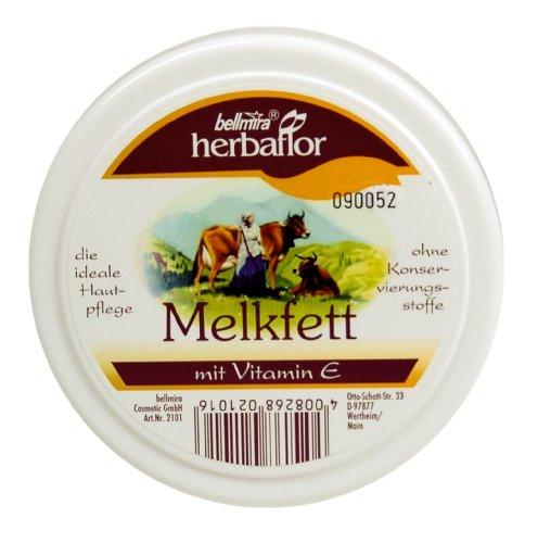 Herbaflor Melkfett mit Vitamin E, 250 ml, 2er Pack (2 x 250 ml)