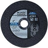 "25 Pack Black Hawk 4"" x .040 x 5/8"" Arbor Metal & Stainless Steel Cut Off Wheels - Ultra Thin Discs"
