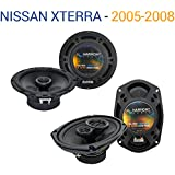 Fits Nissan Xterra 2005-2008 Factory Speaker Upgrade Harmony R65 R69 Package New