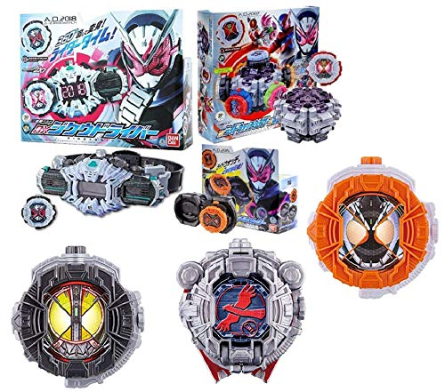Bandai Kamen Rider Zi-O DX Ziku Driver & Ride Watch Holder & DX Ride Watch 5 Types & DX Ride Watch Daiza & DX Taka Watch Roid & Cleaner Cloth All Set of 10 Special Set