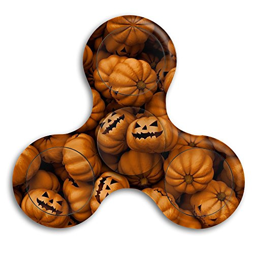 CRSJBB219 Halloween Pumpkin Hands Spinner Toys Best Autism Fidgets Spinners for Adults Children Finger Toy with Bearing Focus Fidgeting Restless