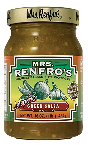 Mrs. Renfro's Green Salsa (Green Pepper Salsa)