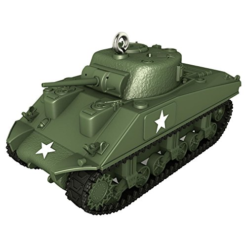 (2017 Hallmark 1943 M4A3 Sherman Tank Ornament)