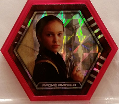 Star Wars Galactic Connexions - Padme Amidala - Lightsaber Red/Pattern Holographic Foil - Ultra Rare ()