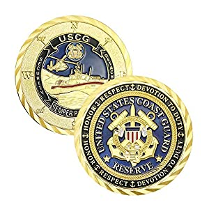 U.S. Coast Guard Navy Challenge Coin Commemorative by Jia Ying Xin