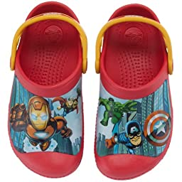 Crocs Marvel Avengers II Clog (Toddler/Little Kid),4-5 M US Toddler