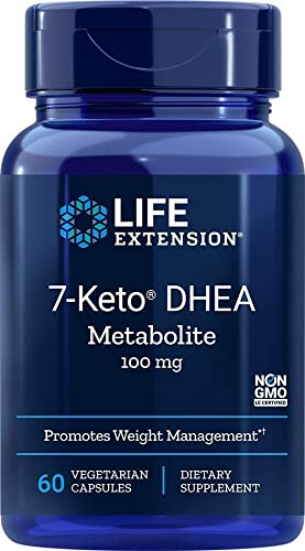 Life Extension 7-Keto DHEA 100 Mg, 60 vegetarian capsules 120