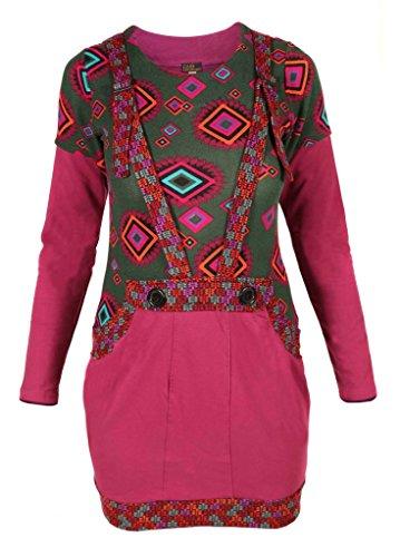 donna tascabile maniche Flissy Little invernale lunghe A Kathmandu da Boho hippy HS0xtEx