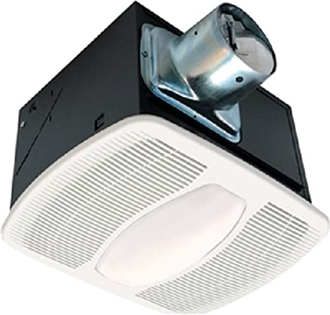 Air King AKL Deluxe Bath Fan With Light And Night Light - Bathroom exhaust fan with light and nightlight