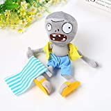RAFGL 1Pcs Plants Vs Zombies Plush Toys 30Cm PVZ Gargantuar Hats Pirate Duck Zombie Plush Stuffed Toys Doll Soft Toy Gifts for Kids U Must Have 4 Year Old Girl Gifts The Favourite Comic