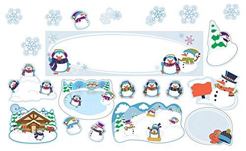 Winter Mini Bulletin Board Set -