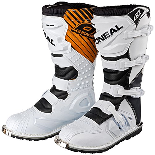 0329-208 - Oneal Rider EU Motocross Boots 41 White
