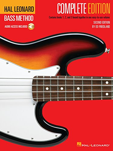 Hal Leonard Bass Method - Complete Edition: Books 1, 2 and 3 Together in One Easy-to-Use (Bass Guitar Lesson Book)