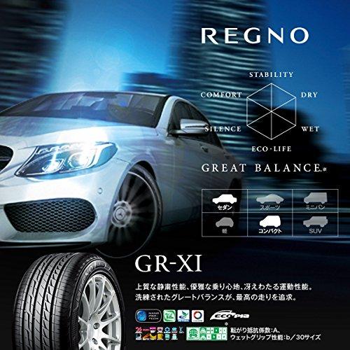 ブリヂストン(BRIDGESTONE)低燃費タイヤREGNOGR-XI235/45R1794W B013HR4H6A