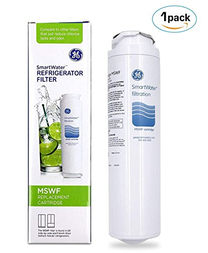 Profile Side By Side Refrigerator - 1 PACK GE MSWF SmartWater Refrigerator Filter Replacement Cartridge Brand OEM