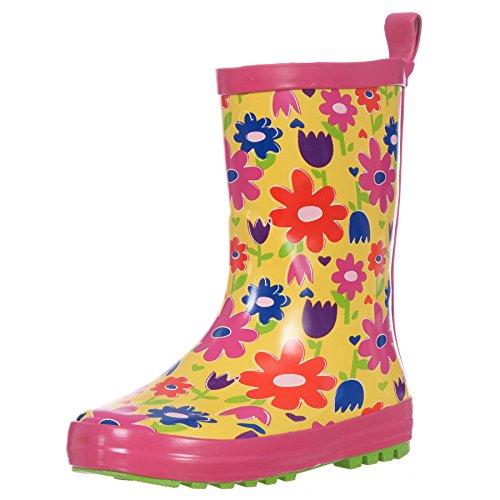 yellow rain boots for girls - 4
