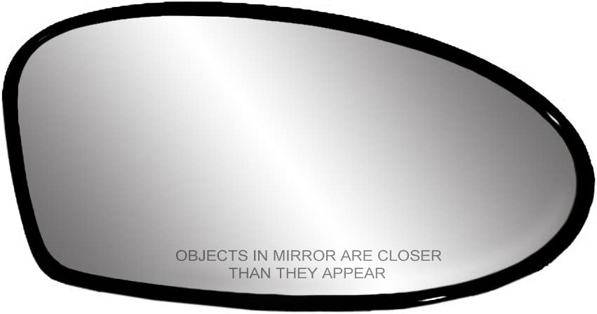 Fit System 88172 Driver Side Non-Heated Replacement Mirror Glass with Backing Plate