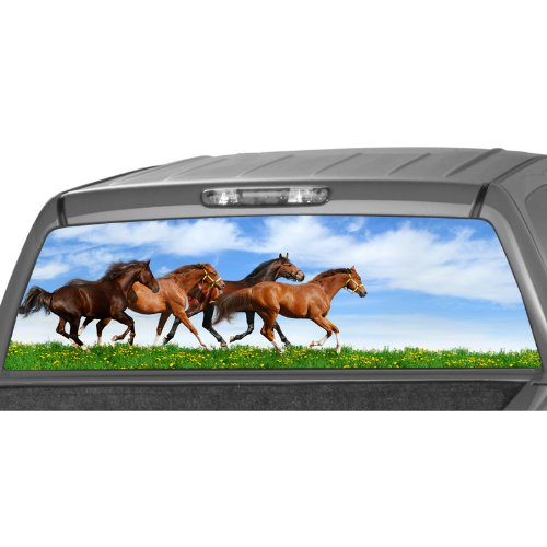 Compare Price To Running Horse Window Decal Tragerlaw Biz