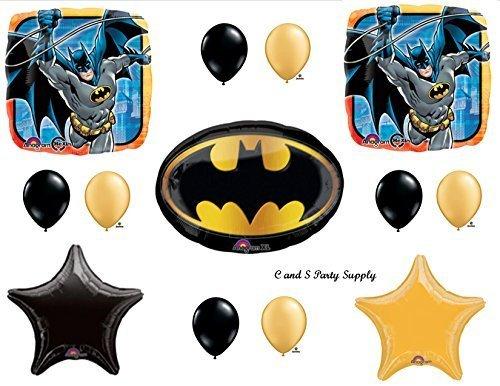 Batman Emblem Birthday Party Mylar Balloon Decorations Supplies